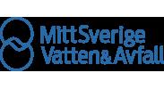 MittSverige Vatten & Avfalls logotyp