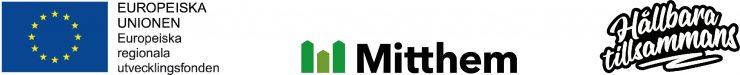 Logotyper: Europeiska unionen, Mitthem, Hållbara tillsammans