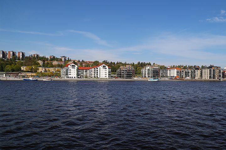 Norra kajen i Sundsvall
