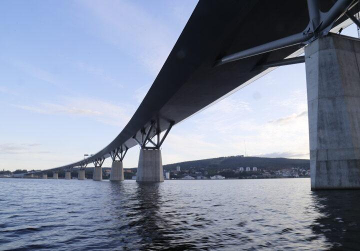 Sundsvallsbukten med Sundsvallsbron