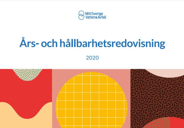 Framsida på års- och hållbarhetsredovisning 2020