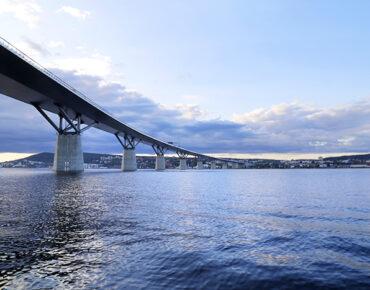 Sundsvallsfjärden och Sundsvallsbron